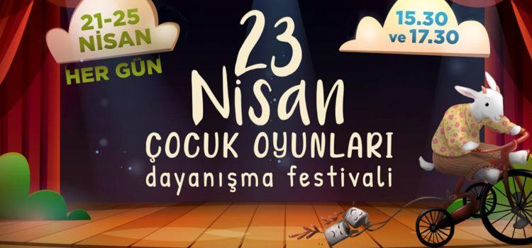 Solfasol- AnTiYap işbirliğiyle, 23 Nisan Çocuk Oyunları Dayanışma Festivali başlıyor!